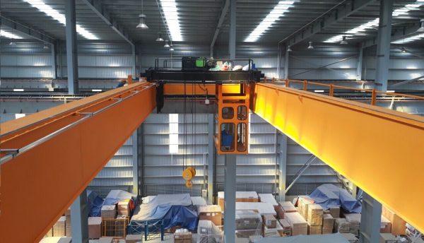 cầu trục dầm đôi 25 tấn đóng tàu hải phòng