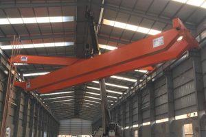 Cầu trục dầm đôi 25 tấn kho thép SMC Mê Linh Hà Nội