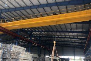 Cầu trục dầm đôi 5 tấn nâng hạ giàn giáo Hải Phòng