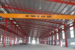 Cầu trục dầm đơn 3 tấn nhựa Đông Á Hà Nội