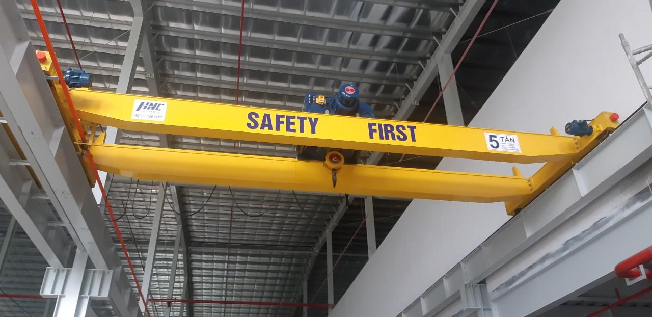 cầu trục dầm đơn 5 tấn eurowindow hà nội
