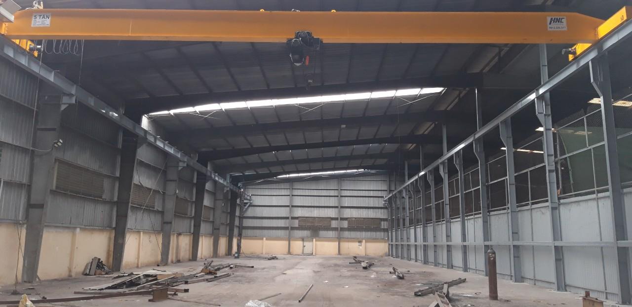 Cầu trục dầm đơn 5 tấn Đông Anh Hà Nội