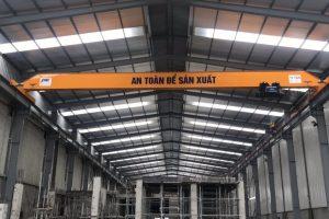 Cầu trục dầm đơn 10 tấn long biên hà nội