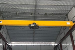 Cầu trục dầm đơn 5 tấn tại Thanh Trì Hạ Nội