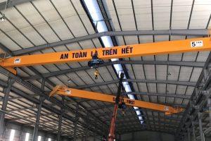 Cầu trục dầm đơn 5 tấn Toyota Vĩnh Phúc