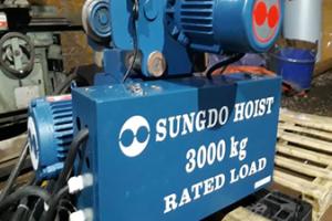 Pa lăng cáp điện 3 tấn dầm đơn
